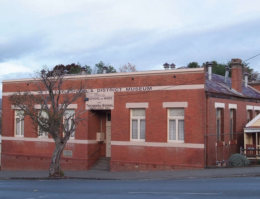 Daylesford and District Historical Society buidling