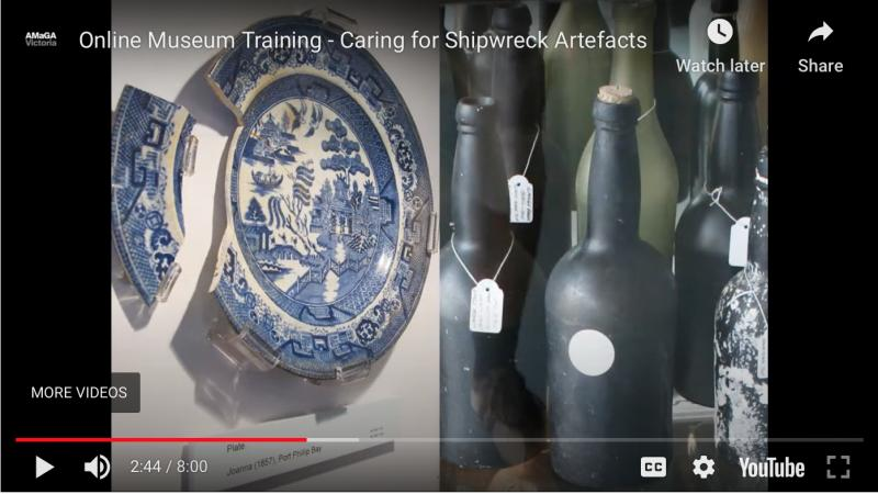 Caring for Shipwreck Artefacts (Video)