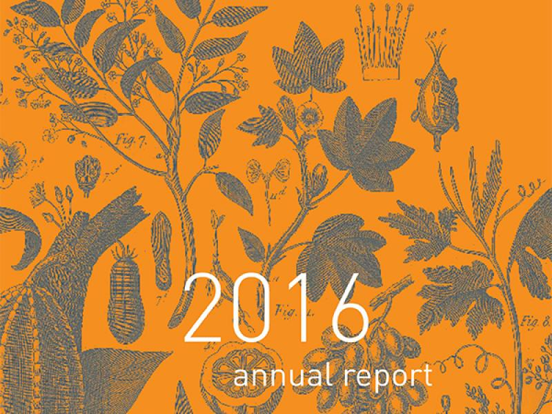 Just Published: 2016 Annual Report