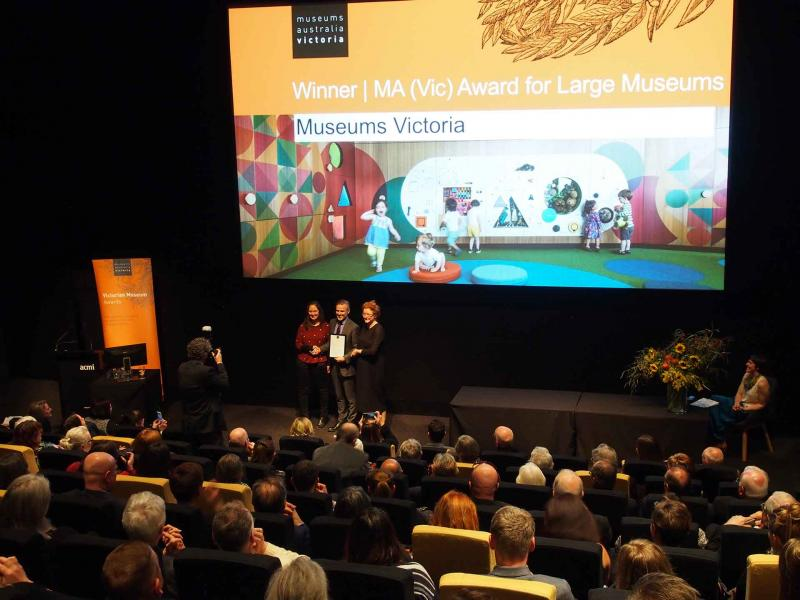 Attendees at the 2017 Victorian Museum Awards