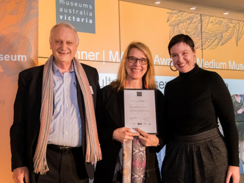Awards 2018 Multicultural Museums Victoria