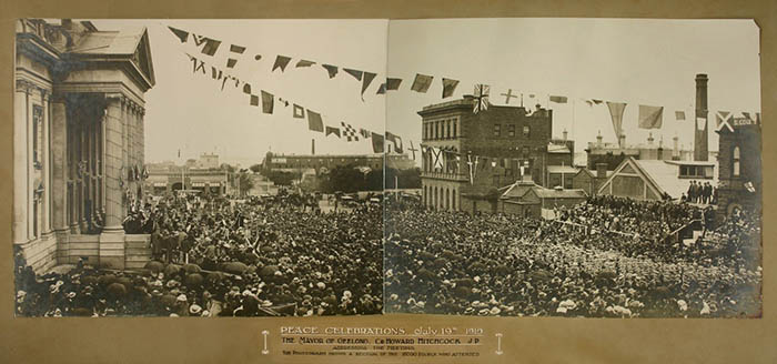 Peace Celebrations 1919 Geelong City Hall