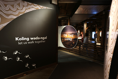 On the Land: Our Story Retold, National Wool Museum, photo credit Mike Dugdale, National Wool Museum and City of Greater Geelong.