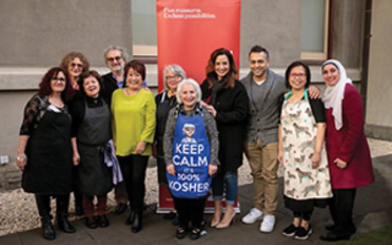 Grandmothers from each MMV museum cooked a meal inspired by her cultural background for the Grandmothers Cook-Off at the Hellenic Museum. The event was broadcast live by partner ABC Radio across Victoria to over 120,000 listeners.
